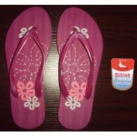 Cute New Fashion white dove color printing beach PE slippers sandals 6 Manufactures