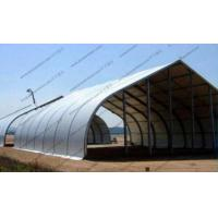Fire Retardant Curved Tent Outdoor Party , Heavy Duty Tents With White PVC Fabric Manufactures