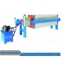 Quality Auto pull board pp plate filter press machine for solid liquid separation for sale