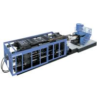 Buy cheap Hydraulic Double Toggle Plastic Injection Molding Equipment , 1550mm Open Stroke from wholesalers