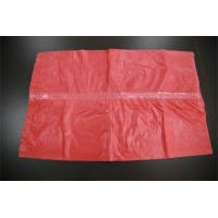 Plastic Medical Water Soluble Disposable , Red Dissolving Laundry Sacks Manufactures