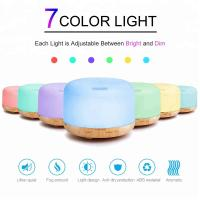 Home beauty machine Round with 300ml oil diffuser for any direction on humidifier Manufactures