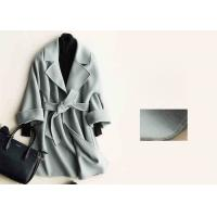 Soft Warm Handmade Wool Coat , Ladies Tailored Wool Coat Many Colors Available Manufactures