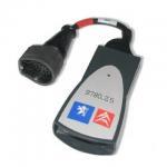 PP2000 Lexia-3 Plus Psa 30pin Obd2 Diagnostic Cable For Citroen / Peugeot Manufactures