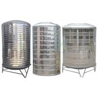 Round Insulated Stainless Steel Water Tank / 304 Cold Water Storage Equipment Customized Manufactures