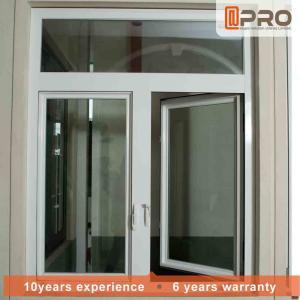 China Vertical Aluminum Clad Casement Windows , Thermal Break Clear Glass Window casement sliding window casement aluminium on sale