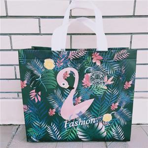 Scrub Flamingo Clothing Store Bag Plastic Women