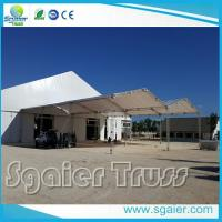 China 12  Box Aluminum Roof Truss For Tent Lightweight Square / Circle Shape on sale