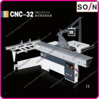 China CNC-32 horizontal sliding table panel saw machine 3200mm for funiture making with CE on sale