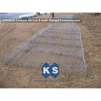 Eco-friendly Flexible Gabion Box And Gabion Mattress Protecting Falling Rocks Manufactures
