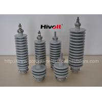 IEC standard capacitor bushing insulator color grey for LV, MV capacitors Manufactures