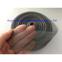 China Stainless Steel Knit Mesh for Breathers Filtration Material in Auto Filter System on sale