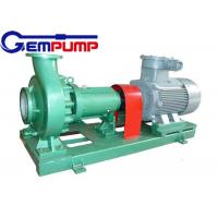 IHF type Clean Water Pump luorine plastic corrosion resistant chemical pump Manufactures