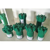 Buy cheap Spherical Rock Drilling Thread Button Drill Bit / Impact Drill Bit For Tunneling from wholesalers