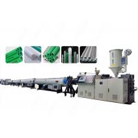 PPR Plastic Pipe Extrusion Line , Automatic Cold / Hot Water Pipes Production Line Manufactures