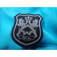 Sportswear Clothing Labels With Custom Printing 3D Raised Logo Matt Effect Manufactures