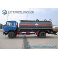 China 10000 L Caustic Soda Chemical Liquid Tanker Truck 4x2 Dongfeng on sale
