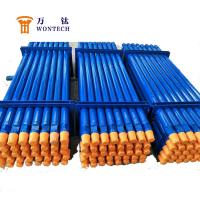 High Flatness DTH Drill Pipe For Deep Well Drilling 127mm/152mm Corrosion Resistance Manufactures