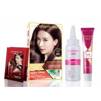 China 5.45 Ammonia Free Hair Dye Color Kit For Man Woman on sale