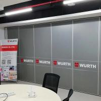 Durable Acoustic Operable Office Partition Walls , India Conference Room Moveable Door Manufactures