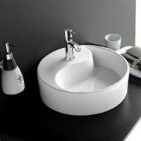 China Customised nonporous Seamless Artificial Stone Solid Surface Hand Wash Basin on sale