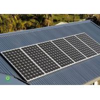 China Commercial Metal Roof Solar Mounting Systems With Excellent Adaptability on sale