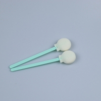 China TX708 Class 100 Dustless Disposable Cleanroom Sponge Cleaning Swab with PP Stick on sale