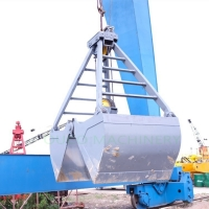 Sand Handling Bulk Cargo 2 Rope Clamshell Grab Bucket Manufactures