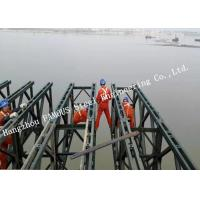 Customized Design Prefabricated Steel Structure Bailey Bridge Construction Long Span Manufactures