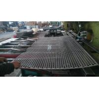 China 304 304L 316L 430 Stainless Steel Perforated Sheet Drawing SGS Passed on sale