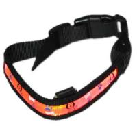 Blue Silknet LED Flashing Nylon Dog Harness Manufactures