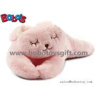 Soft Plush Pink Color Rabbit Stuffed Animal Toy Long Bunny Body Pillow Manufactures