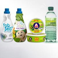 Waterproof Non Adhesive Pvc Shrink Sleeve Labels For Plastic Bottles Manufactures