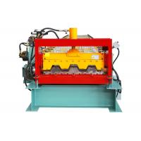 23 Rows Floor Deck Roll Forming Machine Customized Length Effective Width 720mm Manufactures