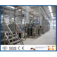 China Turn Key Projects 20000LPD Pasteurized Milk Production Line for 200 - 1000ml Bag Pouch on sale