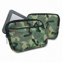 Camouflage Zip Sleeves for Barnes & Noble Nook Colors, Slim, Simple Design Manufactures