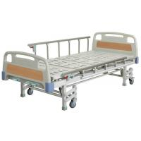 China ISO approved Patient Hospital Beds With Three Crank Multifunction ICU Medical Bed on sale