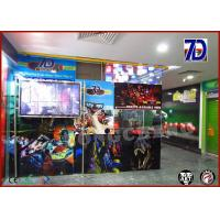 Flexible 7D Mobile Cinema Mobile Movie Theater Interactive Arcade Game Manufactures