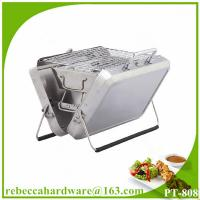 China Folding Outdoor Portable Compact Stainless Steel Charcoal Grill For BBQ on sale