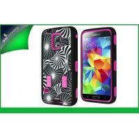 2 In 1 PC And Silicone Shockproof For Samsung Galaxy S5 Samsung Mobile Phone Case Manufactures