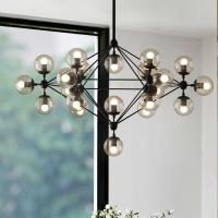China Industrial frosted glass pendant lights for Indoor home Living room Kitchen Lights (WH-VP-26) on sale