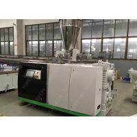 High Efficiency PP / PE WPC Profile Extrusion Line For Wood Plastic Composite Production Manufactures
