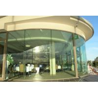 Quality ASTM 3mm - 12mm Curve Insulated Green Glass Figured Scratch Resistant for sale