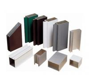China Satin Anodized Aluminum Extrusion Profile , Construction aluminum extruded shapes on sale