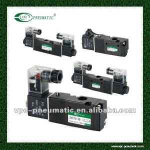 4V Series Pneumatic Directional 3 Position 5 Port Single Control Solenoid Valve Air Valve Pneumatic Valve Manufactures