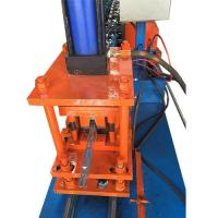 PLC Control System Metal Stud And Track Roll Forming Machine Fully Automatic Manufactures