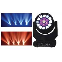 RGBW 4 in1 LED Moving Head Light AC 110-240V 50-60HZ DMX512 RoHs Manufactures