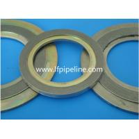 China spiral wound gasket for sealing forged pipe flange gasket on sale