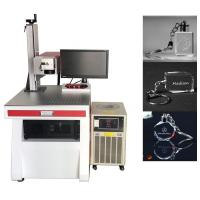 Phone Case Wire UV Laser Marking Machine 30000 Hours Laser Source Life Manufactures