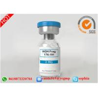 Professional Polypeptide Lyophilized Powder HGH Fargment 176 191 For Fitness Manufactures